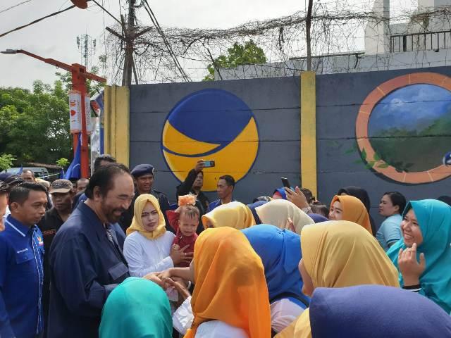 Lorong NasDem Jadi Jembatan Aspirasi Masyarakat ke Partai