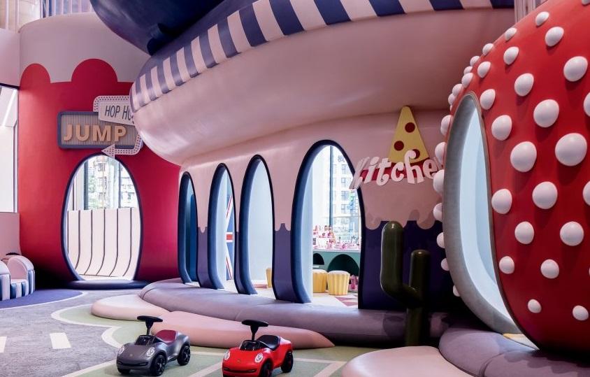 Neobio Family Park, 'Kota Impian' yang Serba Pastel