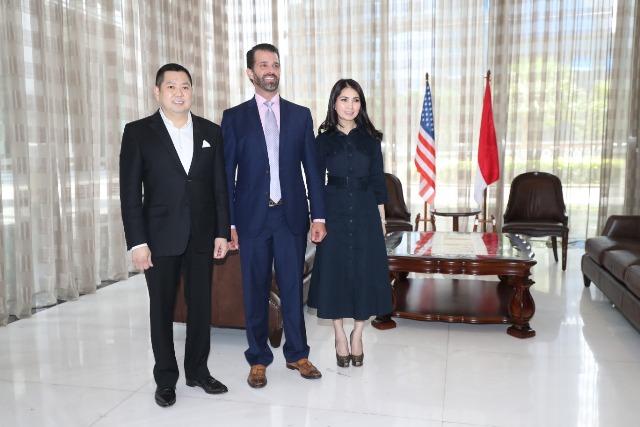 Anak Donald Trump Bangun Proyek Mewah di Lido dan Bali