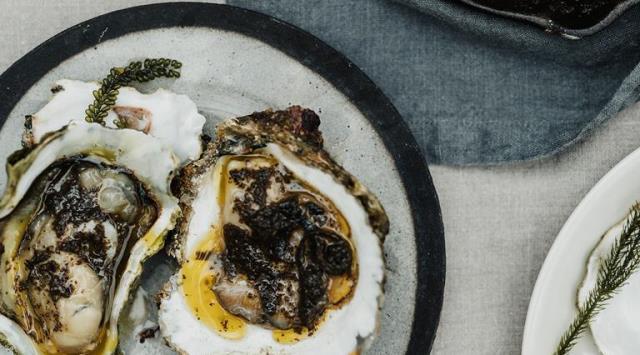 Tiram Bakar dengan Seaweed Butter ala Analiese Gregory