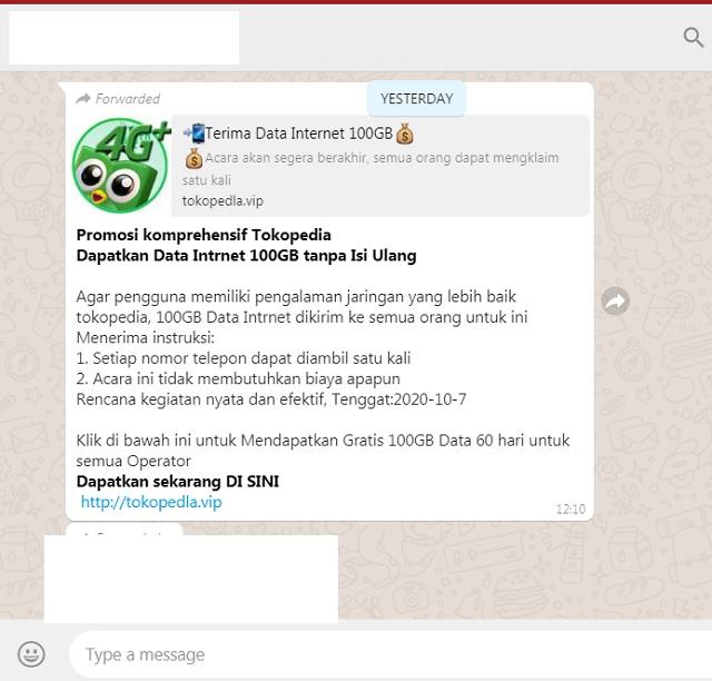 Tokopedia Gelar Promosi Data Internet 100 Gb Tanpa Isi Ulang Ini Faktanya