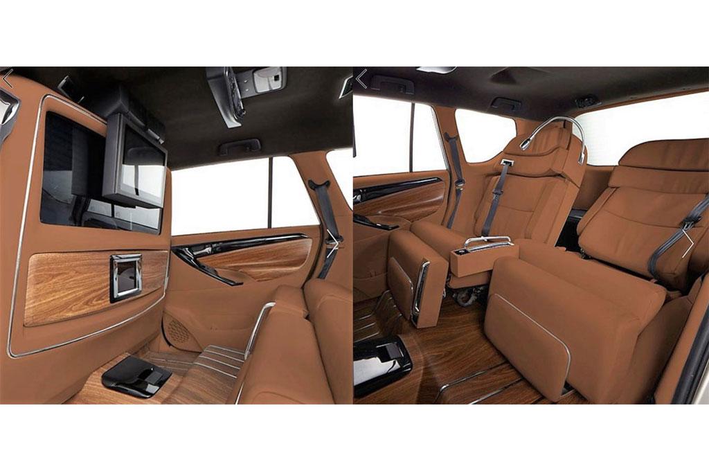 Gaya Interior Private Jet Di dalam Toyota Innova