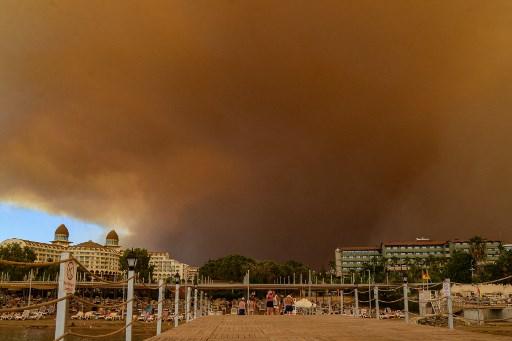 Kebakaran Hutan di Turki Tewaskan 4 Orang