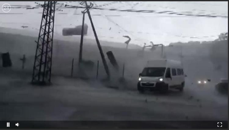 [Cek Fakta] Video Rekaman Topan In-fa di China? Ini Faktanya