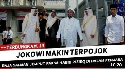 [Cek Fakta] Raja Salman Jemput Paksa Habib Rizieq dari Penjara? Ini Faktanya