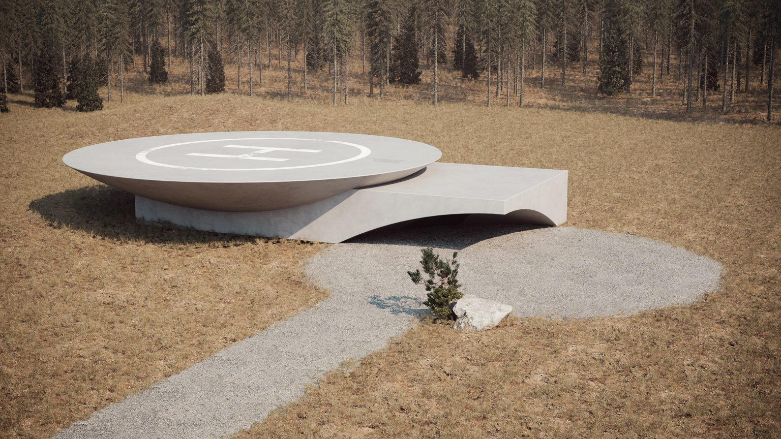 Underground House Plan B, Rumah Bawah Tanah di Ukraina