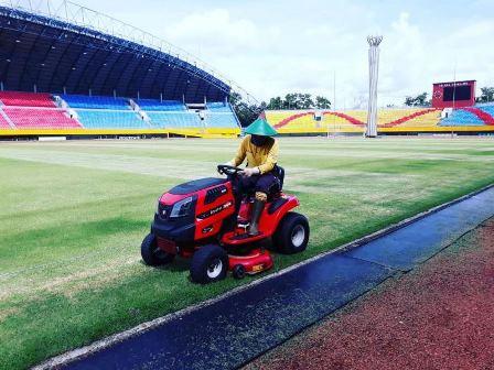Stadion GSJ Palembang Dipercantik Demi Piala Dunia U-20