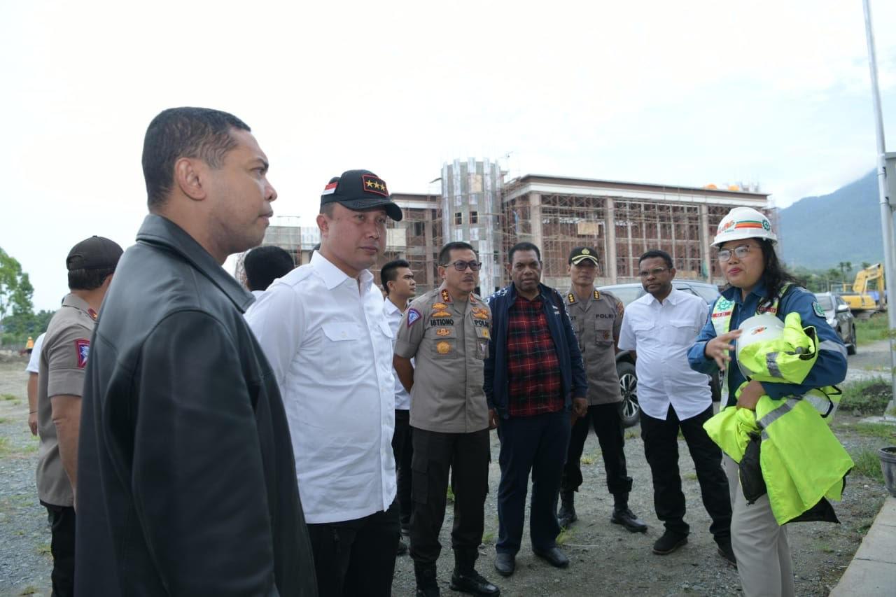 Polri Pantau Persiapan Sejumlah Venue PON XX di Papua