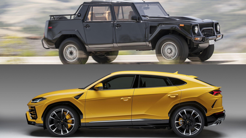 Lamborghini Urus, Caplok Konsep LM002