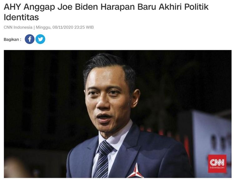 [Cek Fakta] SBY Senang Partainya Menang di Pilpres AS? Ini Faktanya