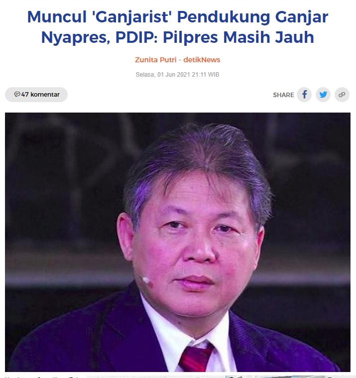 [Cek Fakta] Megawati Resmi Usung Ganjar di Pilpres 2024? Ini Faktanya