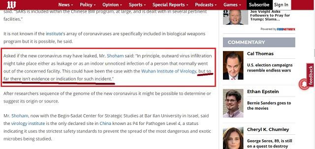 [Cek Fakta] Virus Korona adalah Senjata Biologis Tiongkok yang Bocor dari Laboratorium? Ini Faktanya
