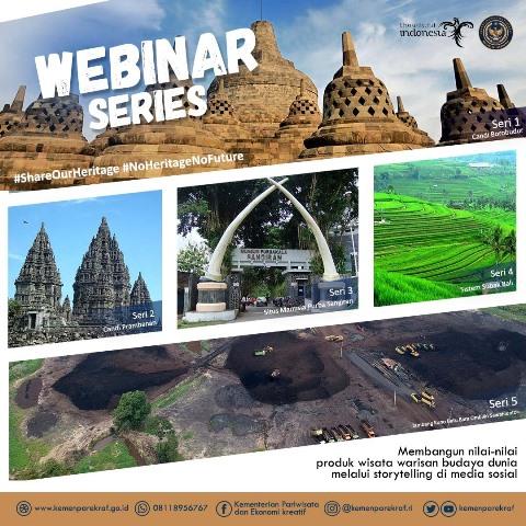 Kemenparekraf Ajak Anda Kenali 5 Situs Warisan Dunia di Indonesia