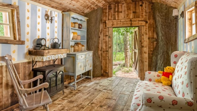 Rumah Pohon Winnie The Pooh Bisa Disewakan Rp1,8 Juta per Malam, Intip Interiornya
