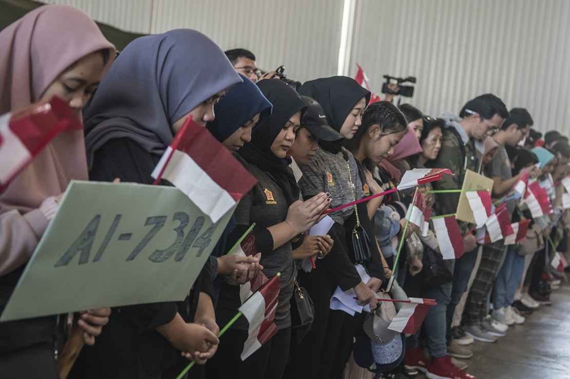 Peserta Observasi Virus Korona Tiba di Jakarta