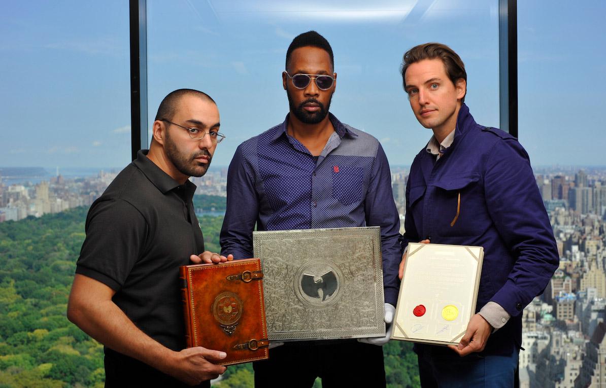 Pemerintah AS Berhasil Jual Satu-satunya Kopi Album Wu-Tang Clan, Once Upon a Time in Shaolin
