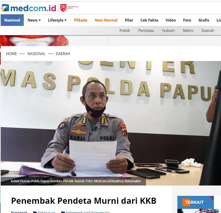 [Cek Fakta] Usai Teror Warga di Papua, OPM Siap Buru Banser? Ini Faktanya