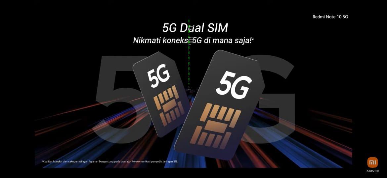 Redmi Note 10 5G Rilis di Indonesia, Ini Spesifikasi Jawaranya 5G di Harga Rp2 Juta