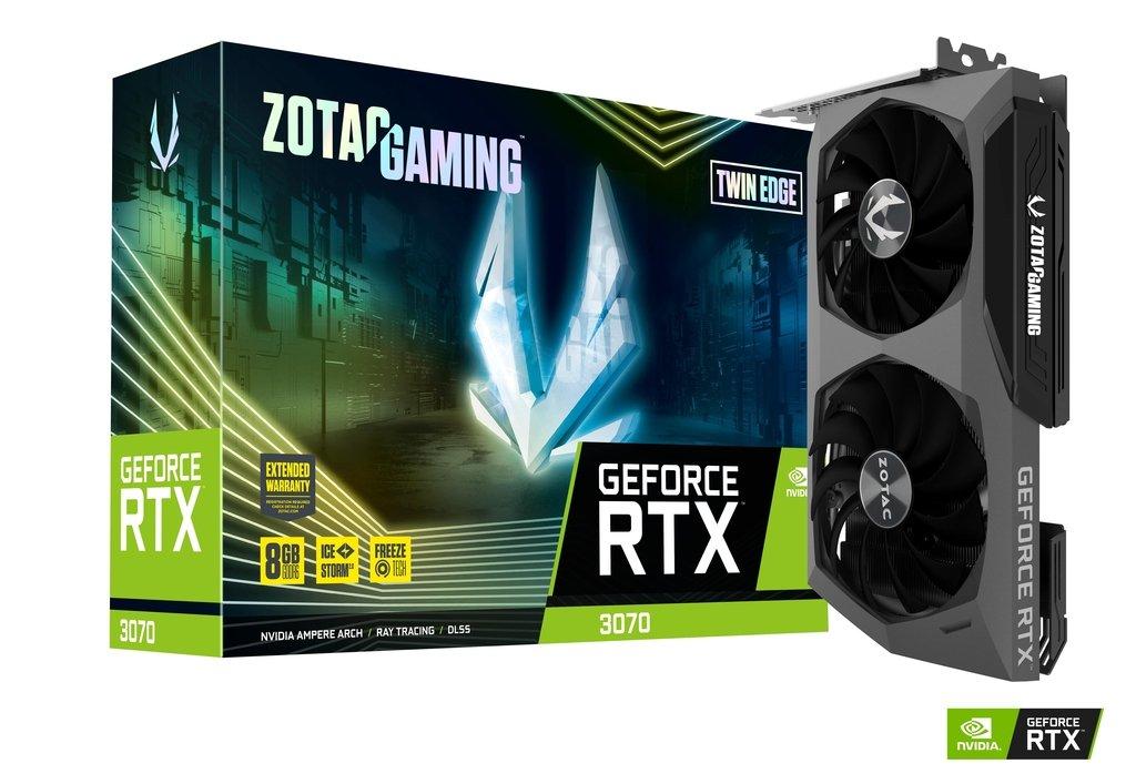 Zotac Gaming GeForce RTX 3070 Twin Edge, Tenaga Super Desain Ringkas