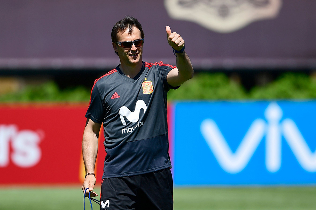 Pelatih Timnas Spanyol Julen Lopetegui Dipecat