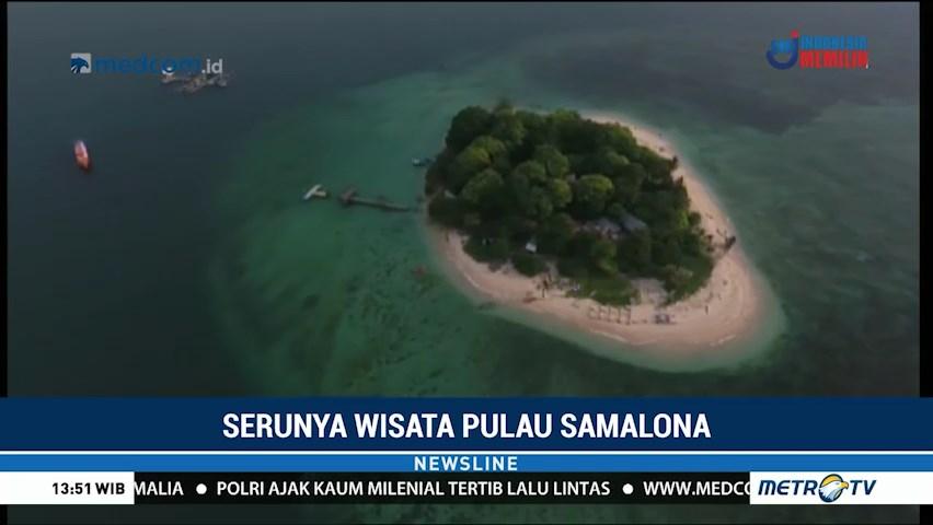 Serunya Wisata Pulau Samalona